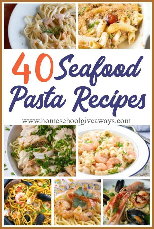 If you love seafood and pasta, you will love these recipes! Perfect for a date night, nice family dinner or just because you love it. Check out these delicious recipes that will have your taste buds begging for more! #seafood #pasta #seafoodpasta