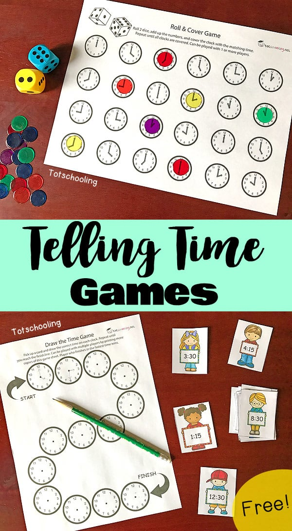 Telling-Time-Games
