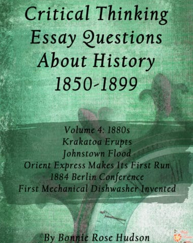 Critical-Thinking-Essay-Questions-About-History-1850-1899,-Volume-4