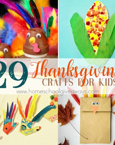 Thanksgiving is a great time to break out the craft supplies and create! Whether you want to make decorations for your family gathering or want to occupy the kids after dinner, these kid-friendly Thanksgiving crafts are sure to be a hit! #Thanksgiving #crafts #Thanksgivingcrafts #DIY
