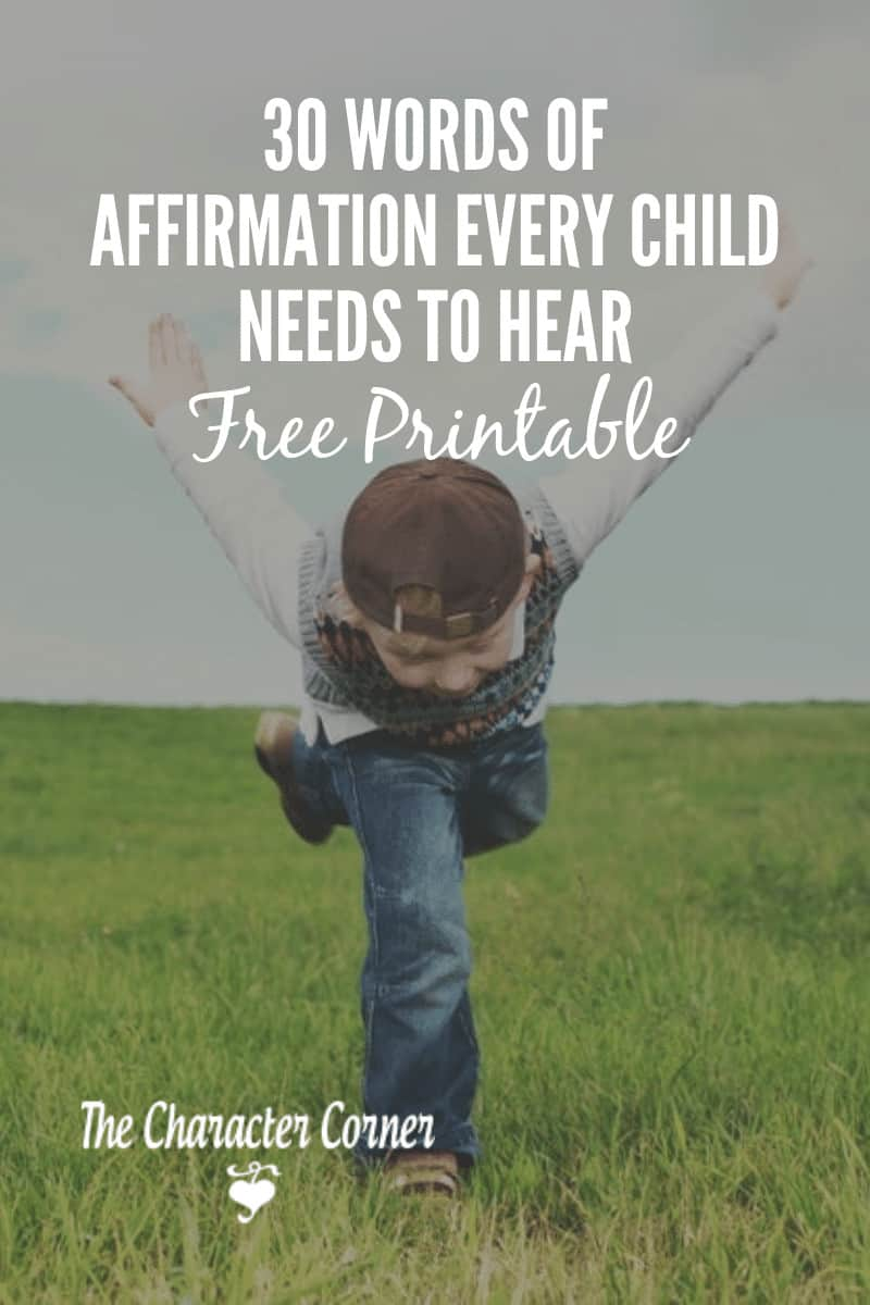 30-Words-of-Affirmation-Every-Child-Needs-To-Hear-and-printable-