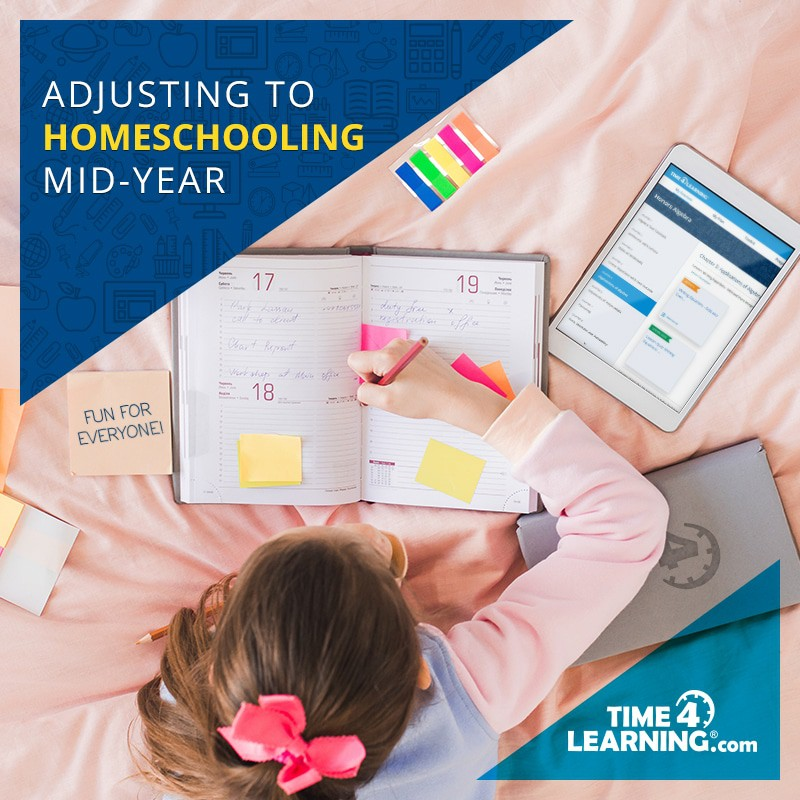 Adjusting to Homeschooling Midyear