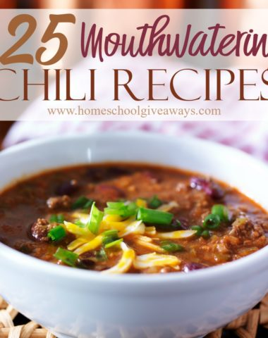 Whether you have cold winters or just cooler nights, these chili recipes will keep you warm. Most of them include ingredients you already have at home, so grab them, set a timer and curl up with a warm blanket by the fire to enjoy some chili! #chili #comfortfood #cooking #recipes