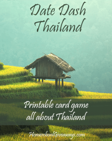 Date Dash Thailand - Thai History Card Game