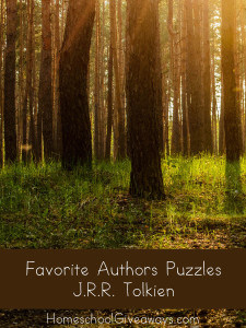 Favorite Authors Puzzles - JRR Tolkien