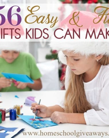 "There are ""holidays"" for almost every day of the year. In fact, December 5th is Make a Gift Day, which is perfect timing for Christmas! Take a day off school work and make it a full-day event. Your kids will love getting to create their own gifts for those they love! #gifts #DIYgifts #giftgiving #Christmas"