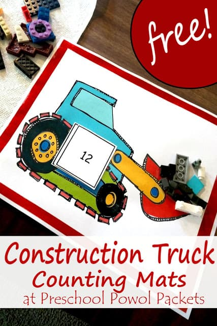 construction truck counting (2) label