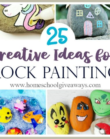 Rock painting has really taken off and has become a whole world all its own. Now your kids can join the craze too! Check out these fun ideas for painting rocks! #kids #crafts #painting #rocks