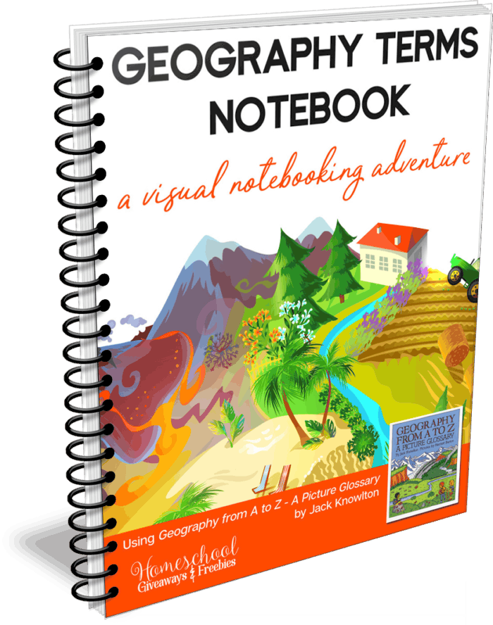 Geography Terms Notebook – A Visual Notebooking Adventure
