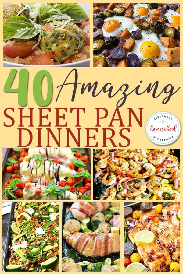 There is something to be said for simple. But no one wants to sacrifice taste for easy. Not only do these recipes use just one pan, but they are packed full of flavor to satisfy those taste buds! #family #moms #hsmoms #dinner #mealtime