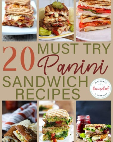 Have you ever wanted to be a little more adventurous with your sandwich options? Try one of these delicious Panini recipes. #sandwich #panini #food #recipes