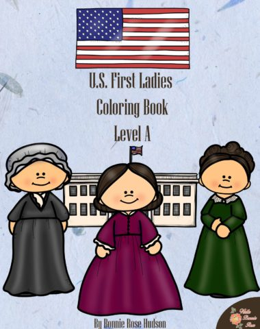 US-First-Ladies-Coloring-Book-cover