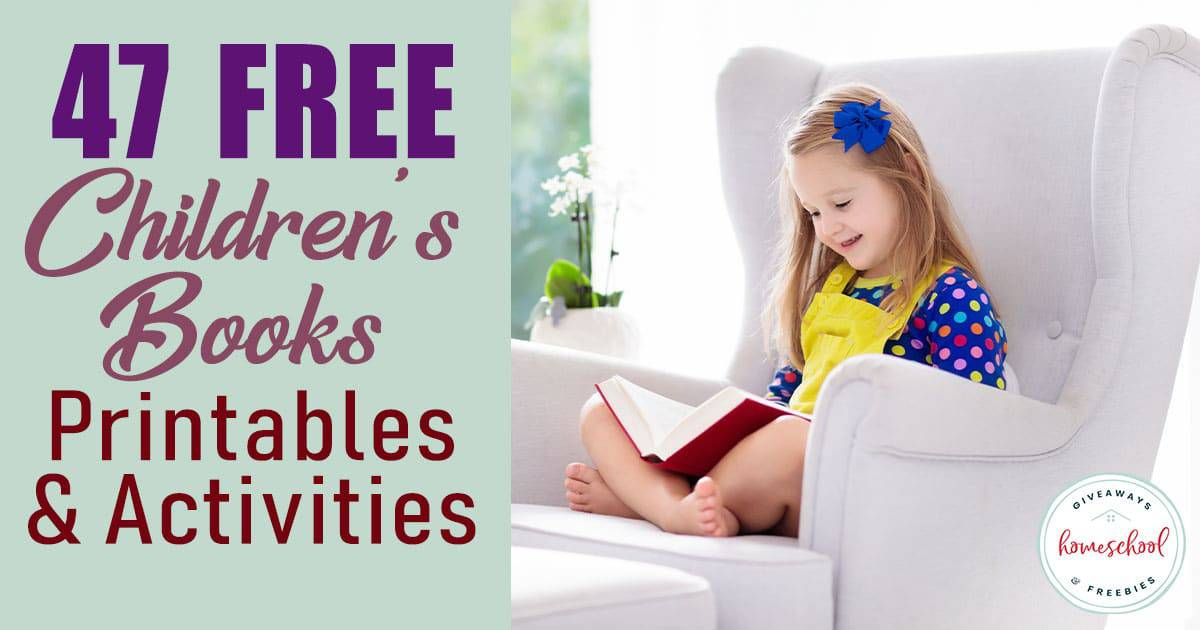 Using these FREE printables and activities along with some of the most beloved children's books are sure to be a big hit with your younger crowd. #reading #childrensbooks #hsgiveaways