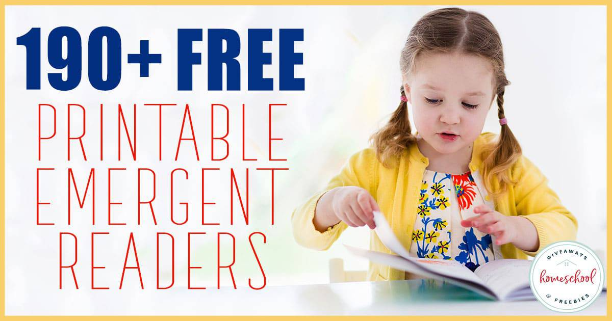 Emergent readers are a fantastic way to help young readers not only work on their reading skills, but also expand their knowledge of various subjects on their level. #reading #emergentreaders #earlyreading #hsgiveaways #homeschoolers