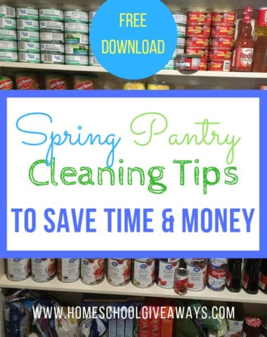 Spring Pantry Cleaning Tips to Save Time + Money #springcleaning #pantryorganization #homemaking