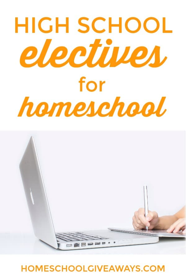 Here are some unique electives to consider for your homeschooled high schoolers.