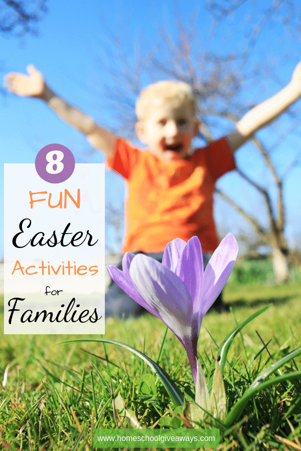 Make some special family memories this Easter with these fun activities. #family #Easter #FamilyActivities #EasterActivities