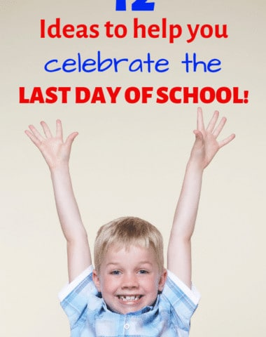 Celebrate the last day of your homeschool year with some of these fun traditions. #lastdayofschool #homeschool