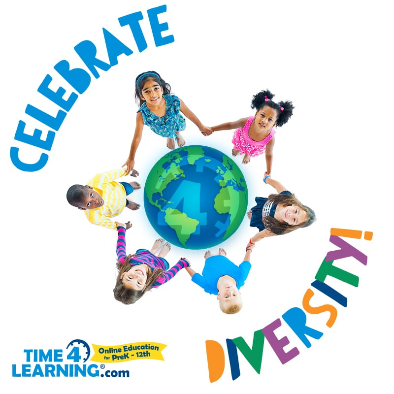 Celebrate Diversity with Time4Learning.com