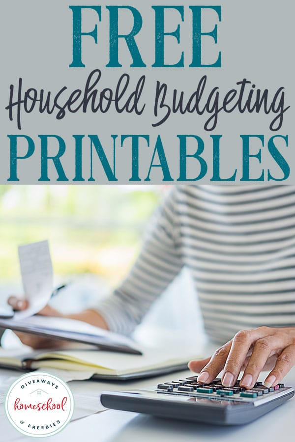 Do you need some help with your household budget? You will love these FREE household budgeting printables! #homebudget #householdbudgeting #homemaker