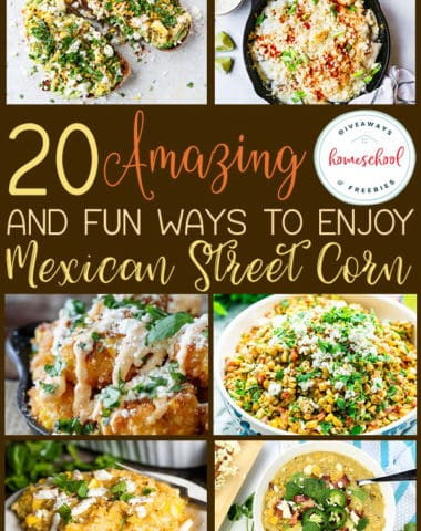 With grill season in full swing now, Mexican Street Corn is a must-serve side dish at your next family or friends gathering. And the best part is, there are so many different ways to have it! Check out these amazing and fun recipes! #recipes #streetcorn #mexican #hsgiveaways