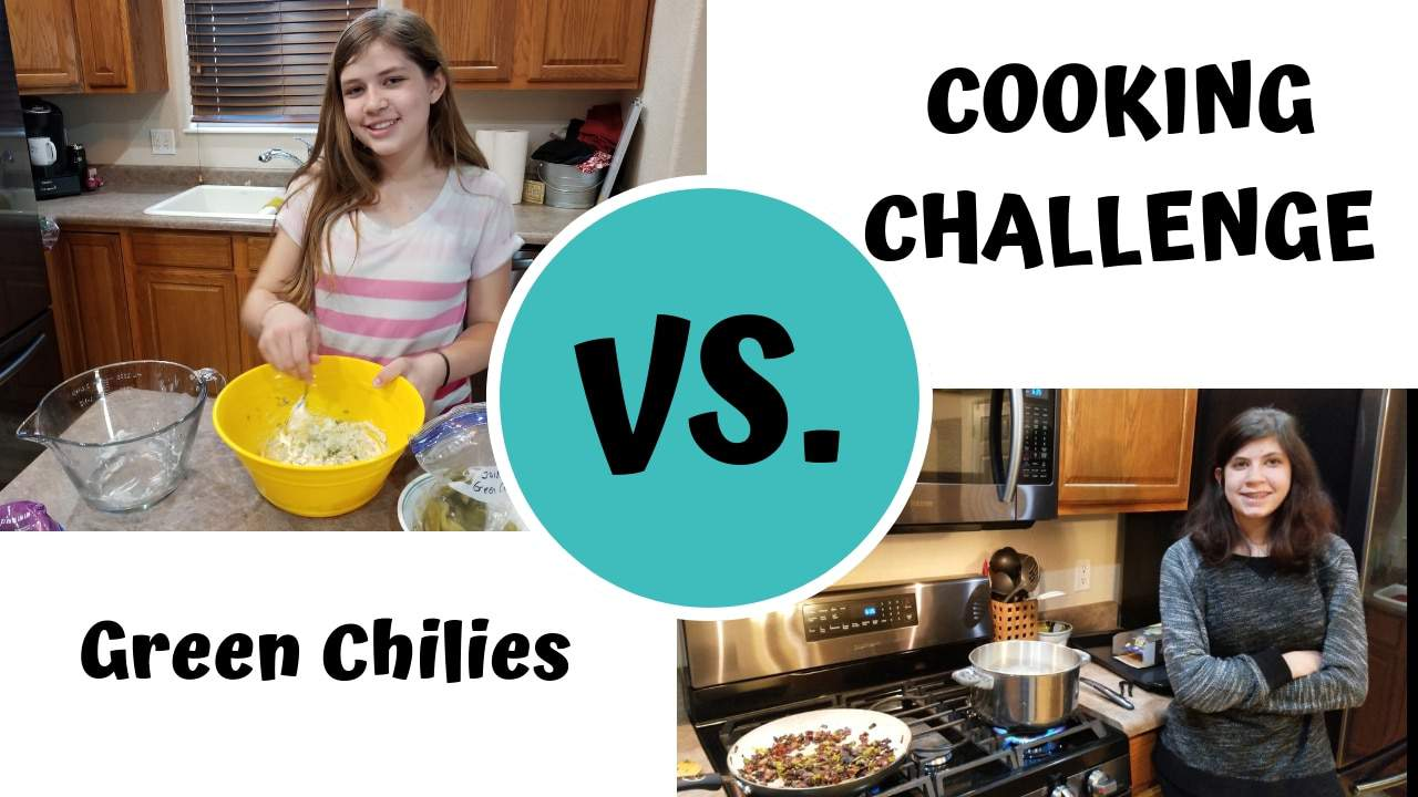 Teach your children to cook using cooking challenges.