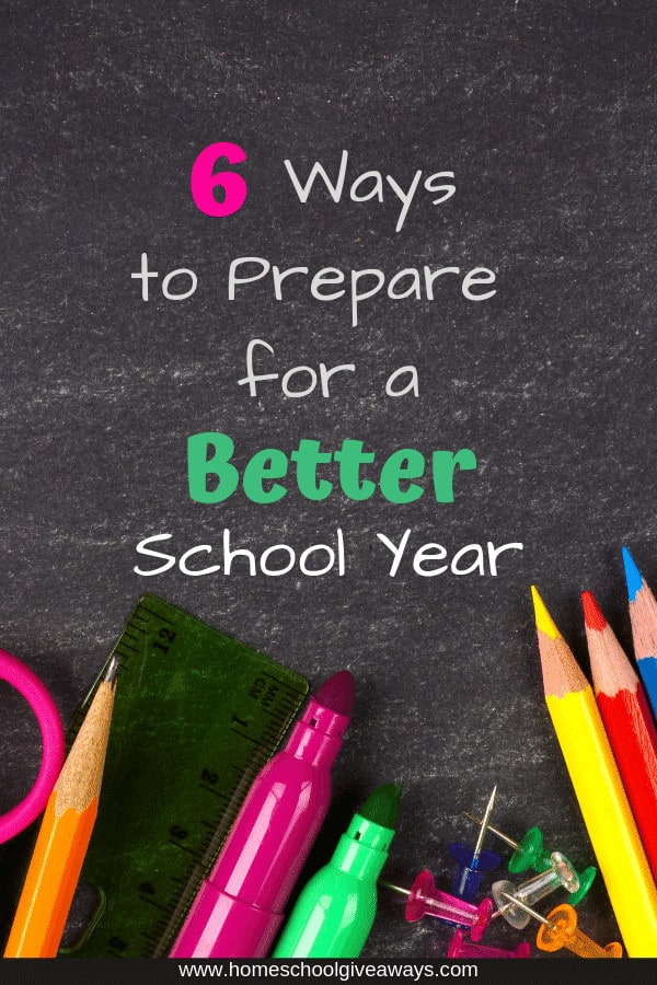 Do you want this school year to be different? Would you like to be less stressed and for things to run a bit more smoothly? Start preparing to make this a better school year now. #homeschool #homeschoolorganization #homeschooling #homeschoolmom
