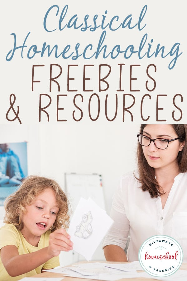 Are you interested in a classical homeschooling education? Check out these Classical Homeschooling Freebies and Resources