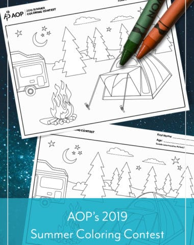 AOP's 2019 Summer Coloring Contest