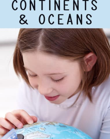 Learn about the seven continents and five oceans with these free continents and oceans printables.