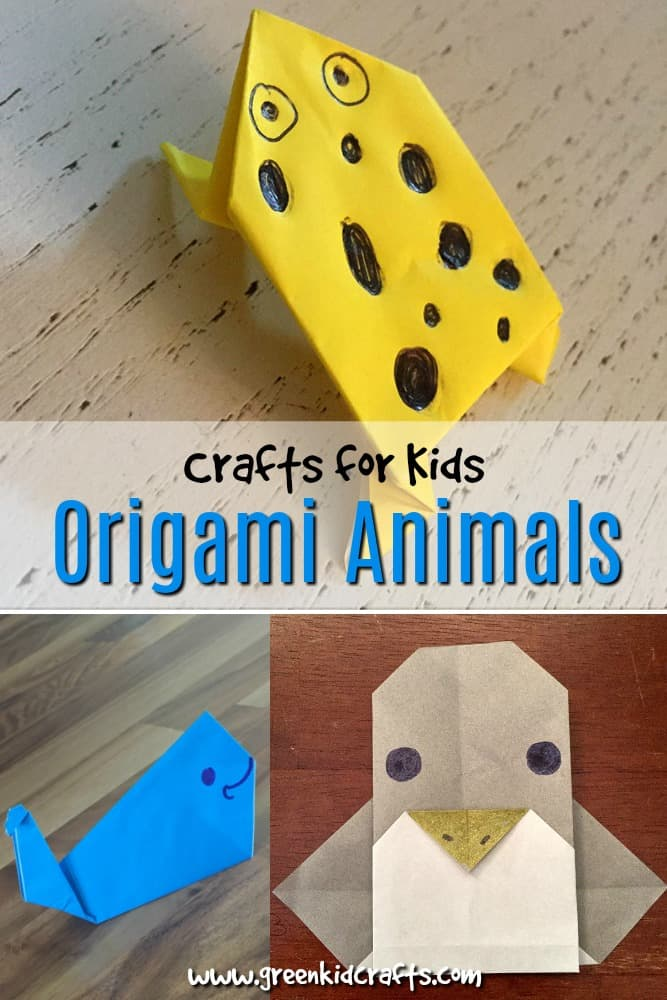 How to Make Origami Animals by Sergey Burlakov | 1000x667