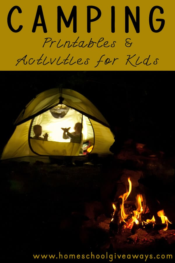 Do your kids love camping? To help you and your family enjoy camping, I have collected a list of some amazing camping printables and activities that your children are sure to love.