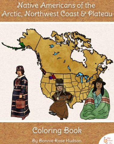 Native-Americans-of-the-Arctic,-Northwest-Coast,-and-Plateau-Coloring-Book-WBR
