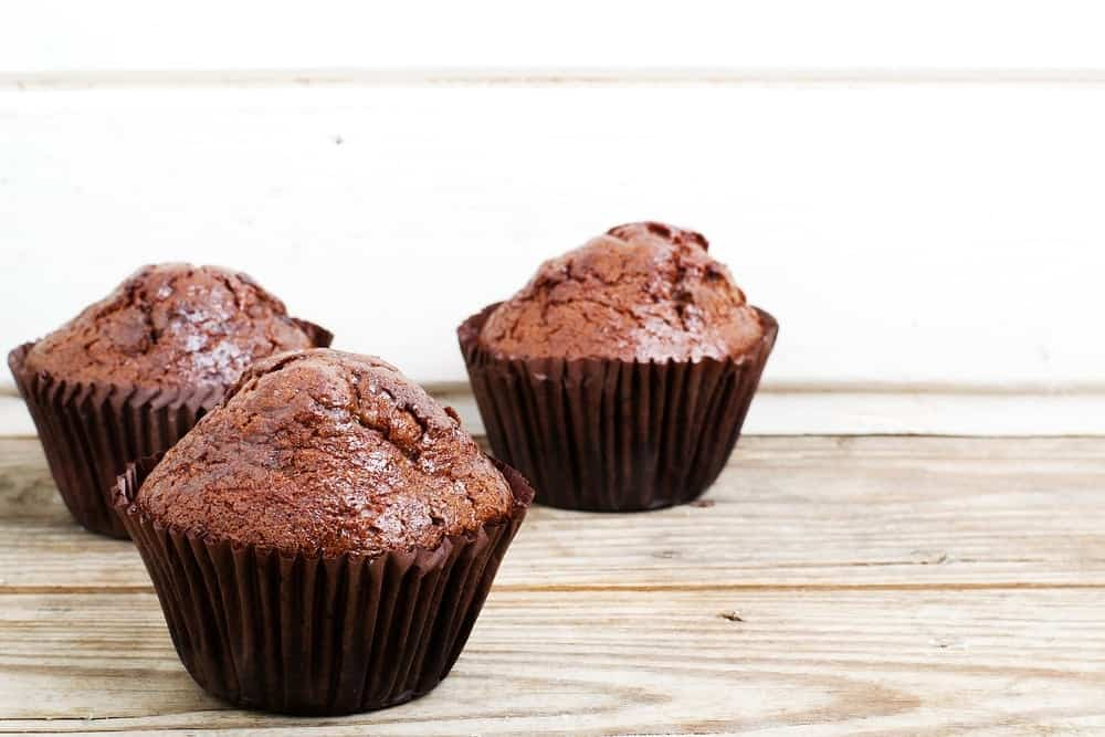 Air Fryer Easy Chocolate Muffins by Recipe This