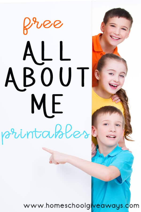 This fun All About Me Printable Pack is a great way for young kids to get creative while learning important information about themselves as well. If you have your children fill these out on the first day of school every year, you will have a truly wonderful keepsake of memories that can be treasured for ever.