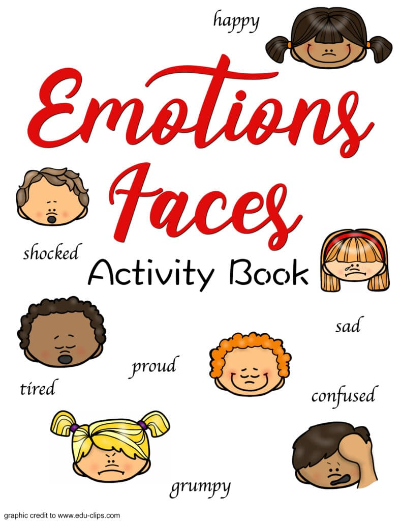 FREE Emotion Faces and Activities Printable for Your Kids ...