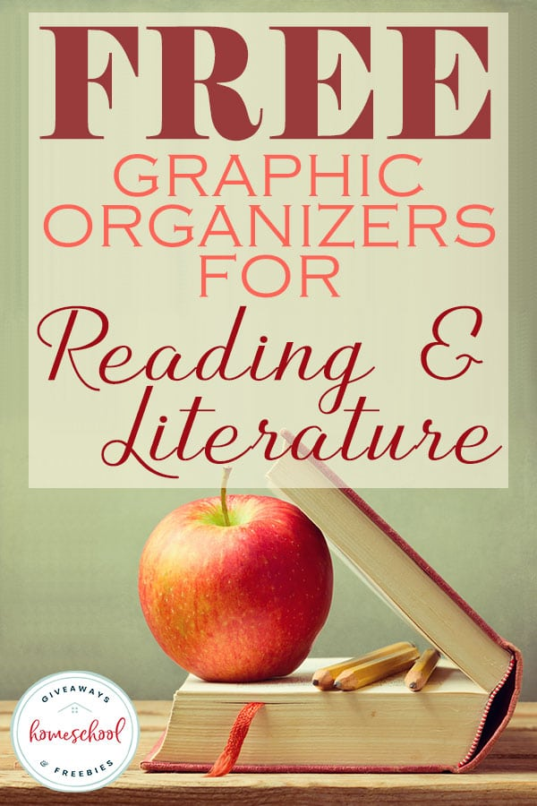 FREE Graphic Organizers for Reading and Literature #graphicorganizers #readingprintables