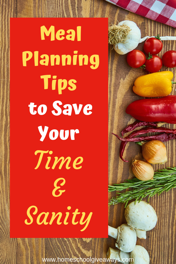 Never be stressed over dinner again with these simple meal planning tips. #mealplanning #mealplan #whatsfordinner #dinner