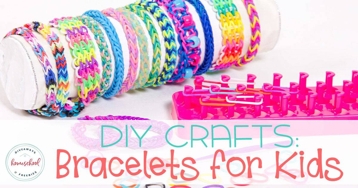 Do your kids like making crafts? Bracelets are a fun craft for girls and boys. There are so many different types and options, there really is one for everyone. These are great for an indoor day, gifts for friends and family and more. #diybracelets #diycrafts #kidcrafts #hsgiveaways