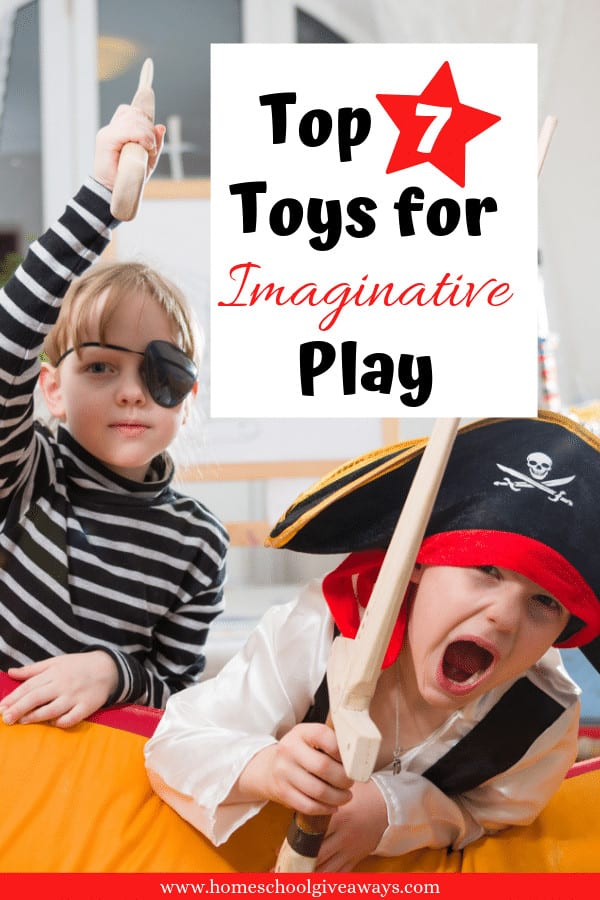 Keep your little ones occupied with these fun, imaginative toys. #preschool #homeschool #giftideas #toys #parenting