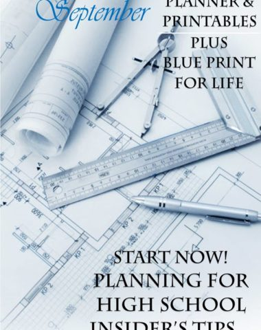 FREE High School Planning Printables