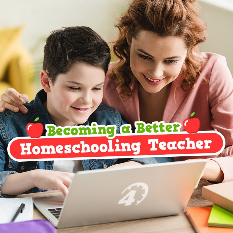 Become a Better Homeschool Teacher with Time4Learning