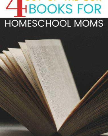 Here are 4 titles that might not make it on many homeschool mom book lists, yet they will be gamechangers for your homeschooling philosophy. Plus grab a FREEBIE book list!
