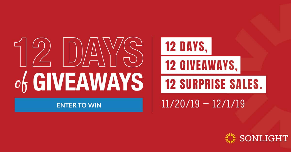 12 Days of Giveaways by Sonlight • Christmas Gift Guide and Daily Giveaways
