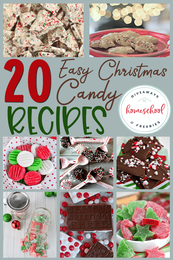 Does your family love sweet treats during the holidays? These Christmas Candy recipes are easy to make and perfect for your holiday gatherings. You can even get your kids involved! #Christmas #holidaytreats #Christmascandy #hsgiveaways
