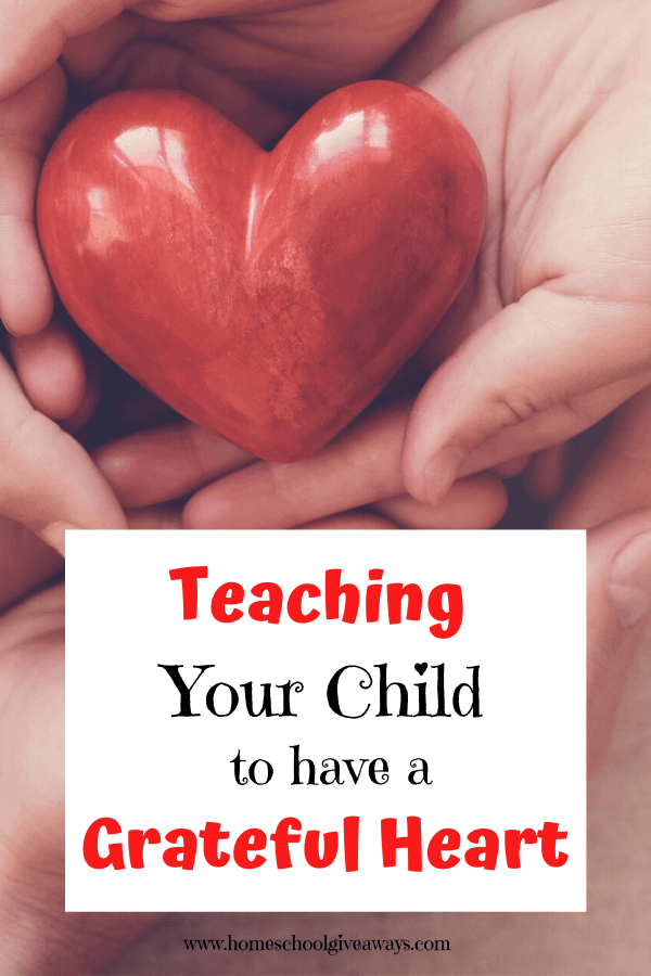 4 tips that will help you teach your child to have a grateful heart. #family #thanksgiving #gratitude