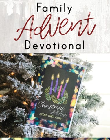 Download a free Jesse Tree advent guide for your little ones this Christmas season.