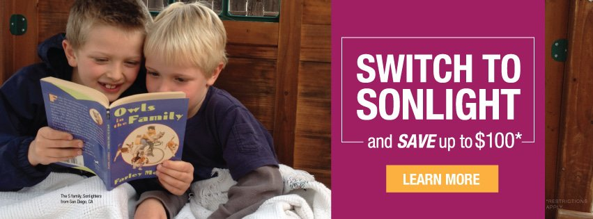 Switch to Sonlight and Save up to $100