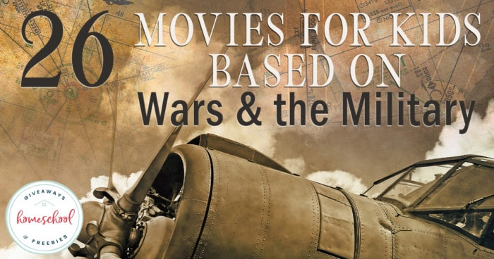 Whether you have a history buff in the making or you are studying different wars, movies are a great alternative to visiting the sites in person. Check out these great movies that take a look at history from the Revolutionary war to World War II and more. #history #learningthroughmovies #warhistory #hsgiveaways