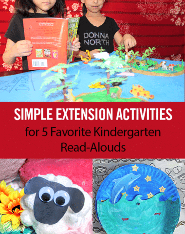 Simple Extension Activities for 5 Favorite Kindergarten Read-Alouds